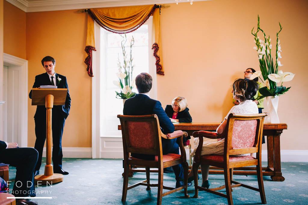 Morden Registry Office Wedding