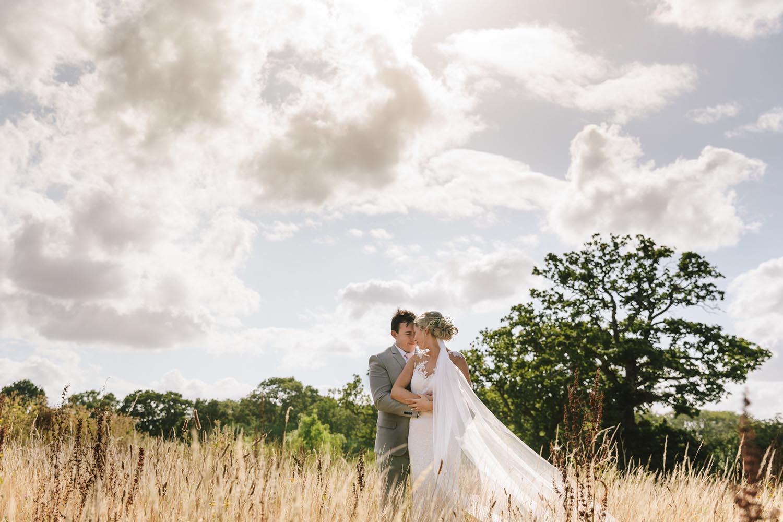 New Greens Barn Wedding