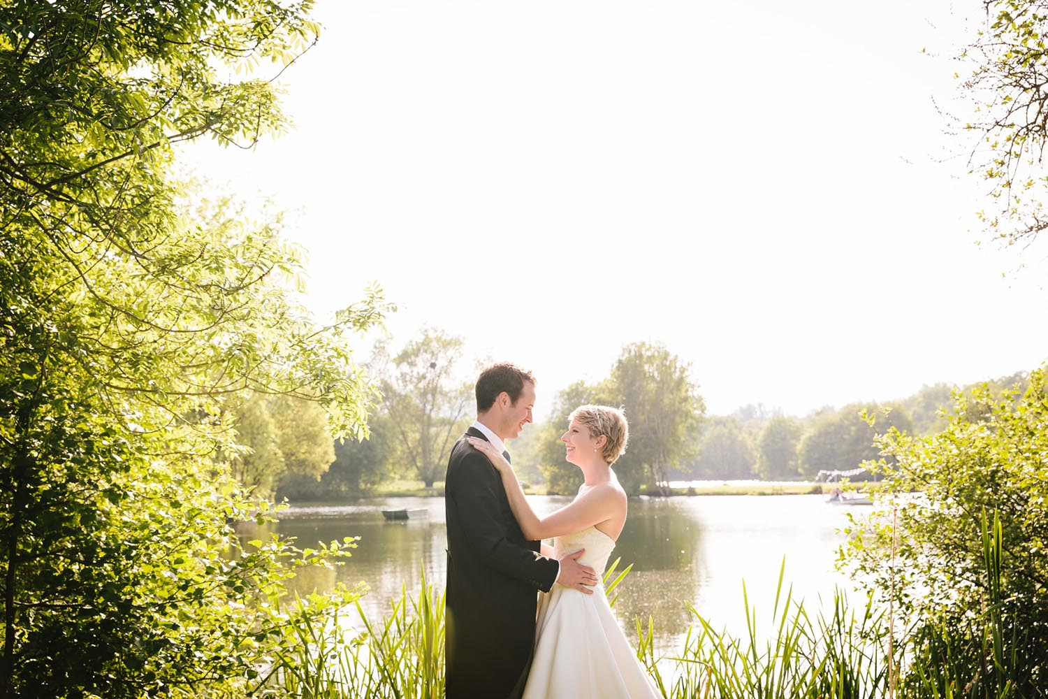 Duncton Mill Fishery Wedding Photos